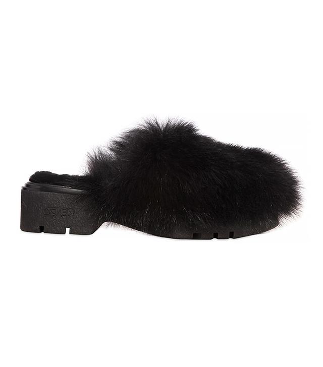 Kenzo Sheep Fur Mules