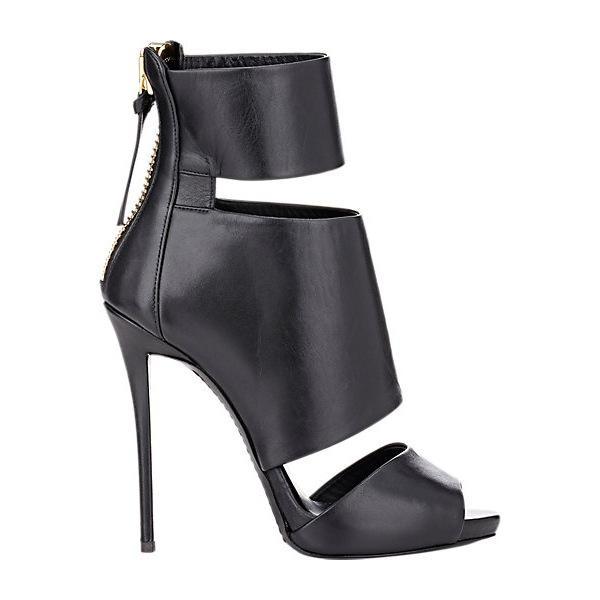 Giuseppe Zanotti Leather Cutout Ankle Boots