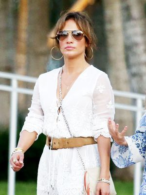 Jennifer Lopez Takes Beach Chic to the Next Level