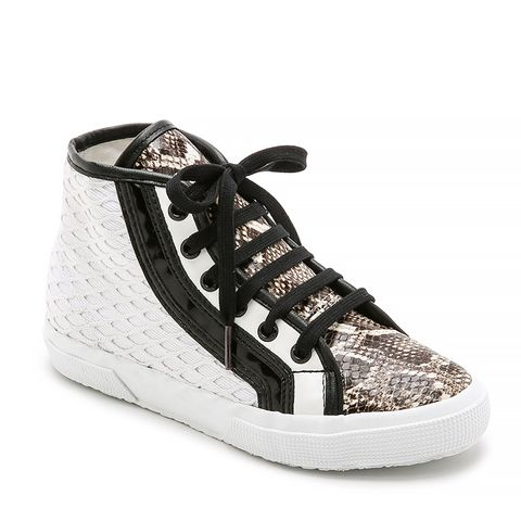 Net Snake High Top Sneaker