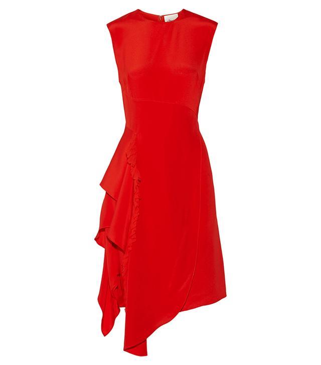 3.1 Phillip Lim Ruffled Silk-Crepe Dress