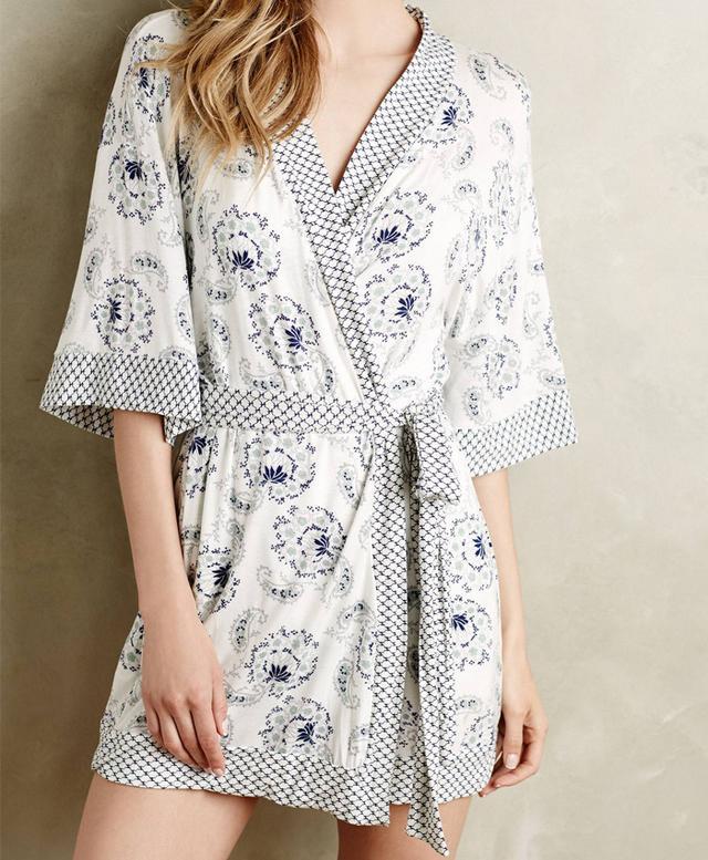Eberjey Pattern Play Robe