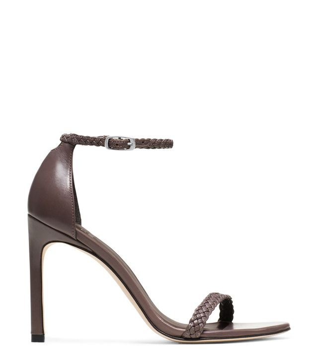 Stuart Weitzman The Barebraid Sandals, Clay Nappa