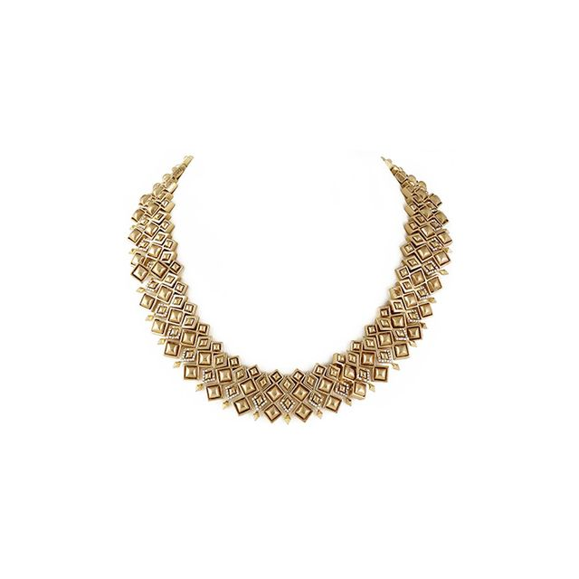 House of Harlow 1960 Kraals Statement Necklace