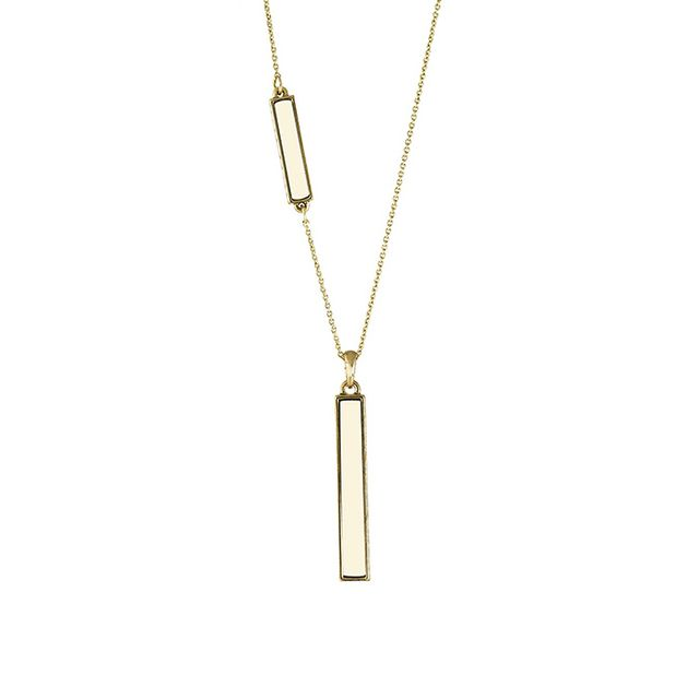 House of Harlow 1960 Long Rains Pendant Necklace