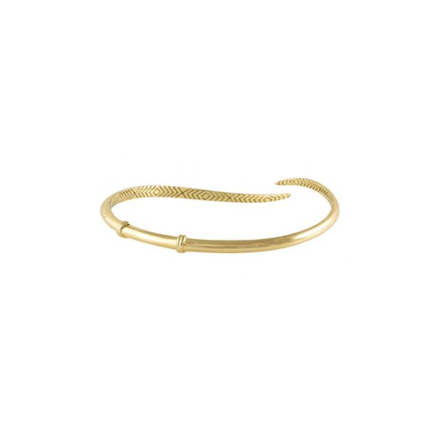 House of Harlow 1960 Arid Bangle in Gold