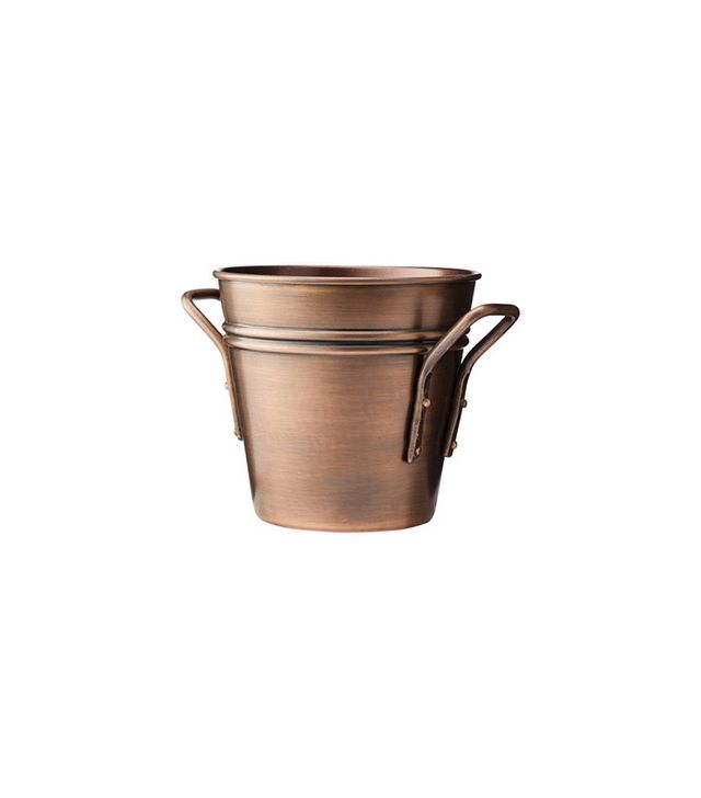 Smith & Hawken Round Copper Planter