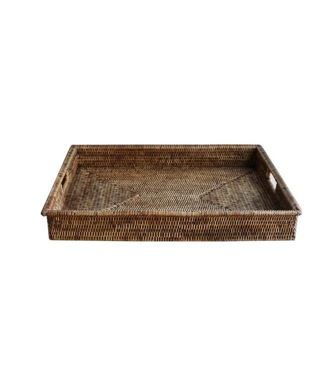 High Street Market Large Woven Rectangular Serving Tray
