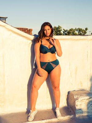 Plus-Size Model Ashley Graham Looks Amazing in Her New Lingerie Line