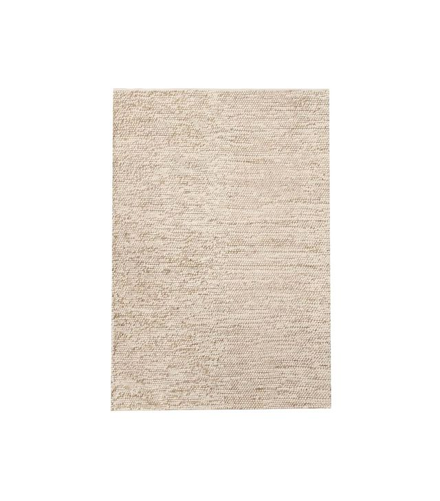 West Elm Mini Pebble Wool Jute Rug