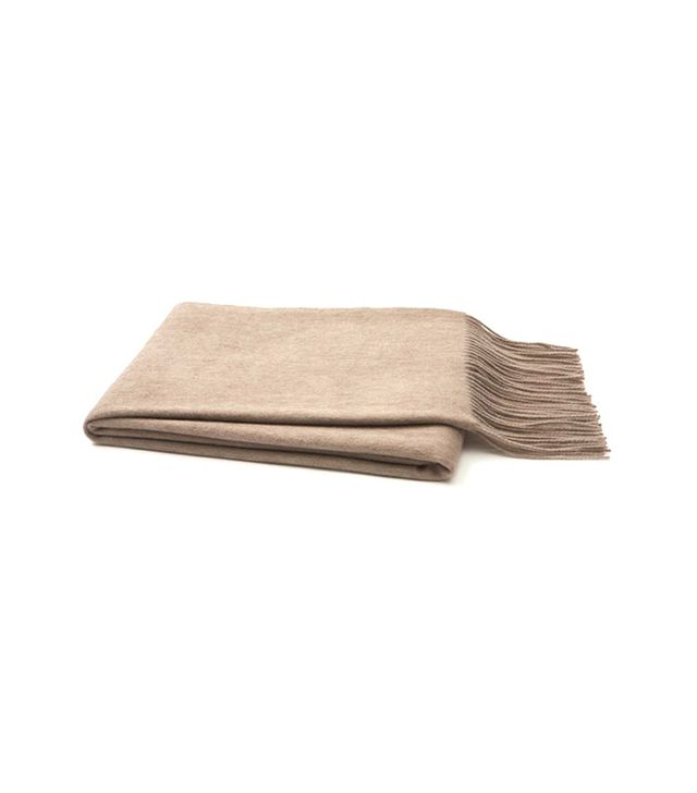 One Kings Lane Brushed Cashmere Throw