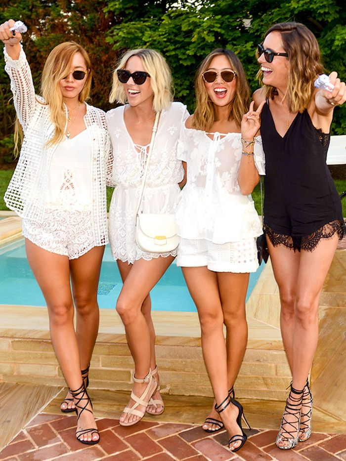 See How 9 Fashion Bloggers Ruled The Hamptons For A