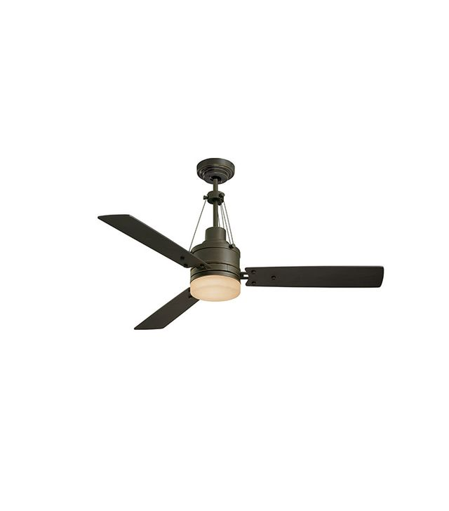 Emerson Highpointe Ceiling Fan in Golden Espresso With Chocolate Blades