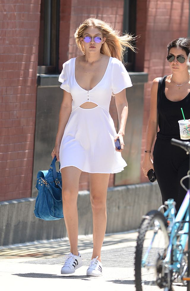 The Little White Dress Look