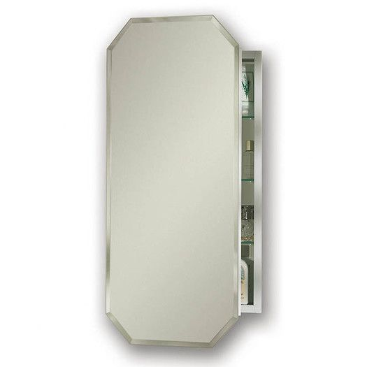 Broan Metro Recessed Beveled Edge Medicine Cabinet