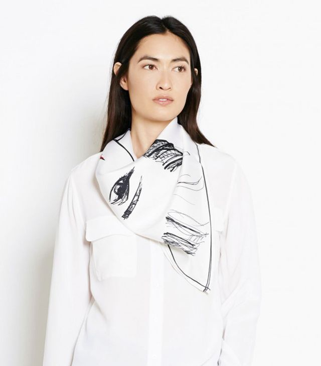 Garance Doré x Equipment Robina Scarf
