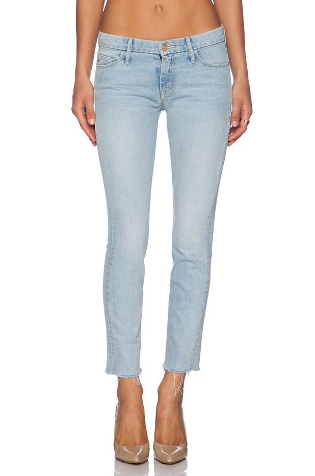 Candice Swanepoel x Mother Looker Ankle Jeans