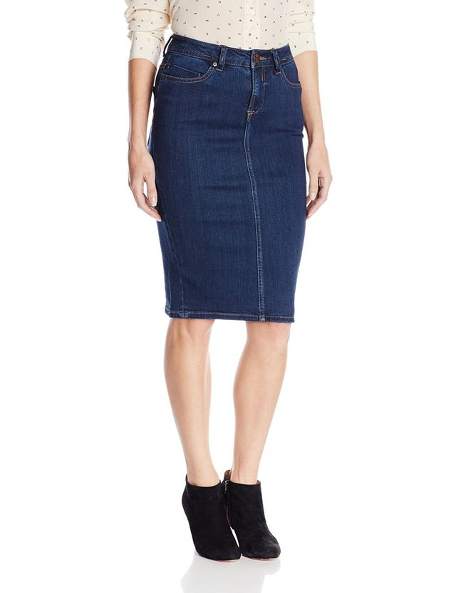 Liverpool Jeans Company Suzanne Denim Pencil Skirt