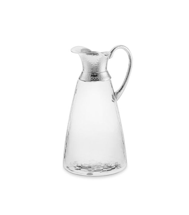 West Elm Pebbled Glass Pitcher