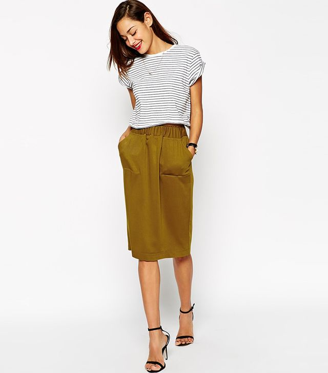 ASOS Skirt With Utility Detail
