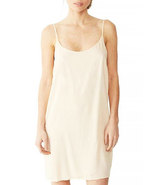 Shoptiques Nude Slip Dress