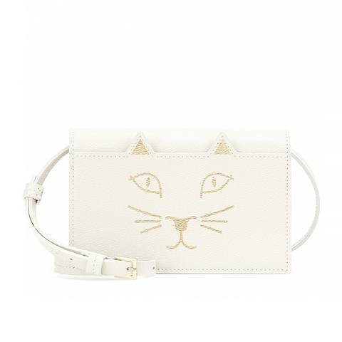 Feline Purse, White