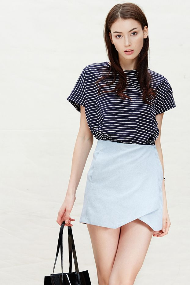 A Common Space Denim Skirt