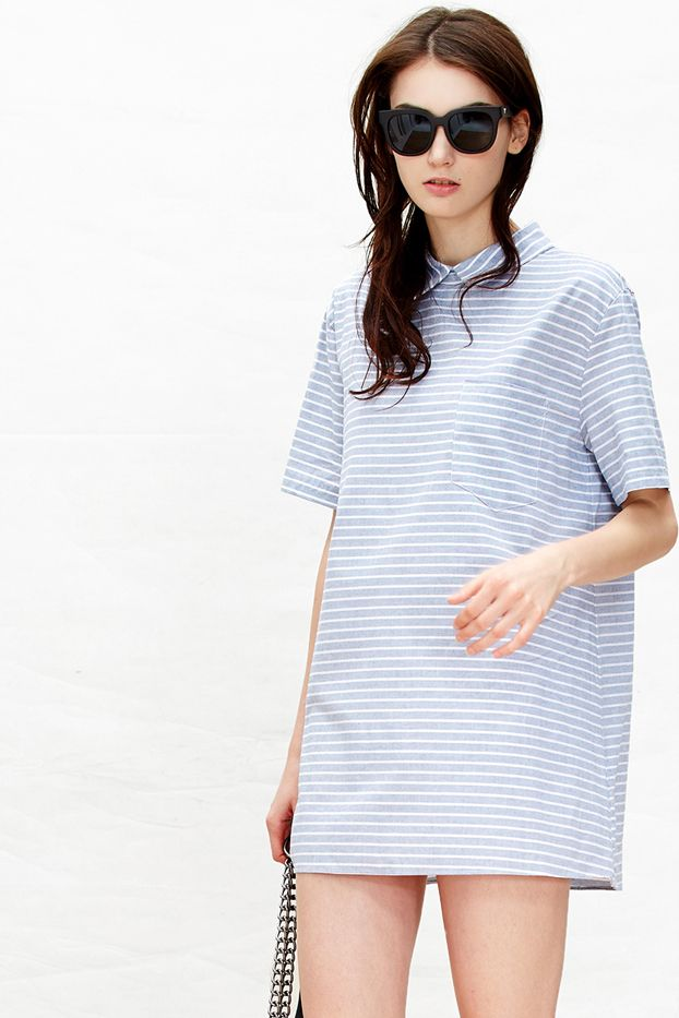 A Common Space Emma Striped Dress