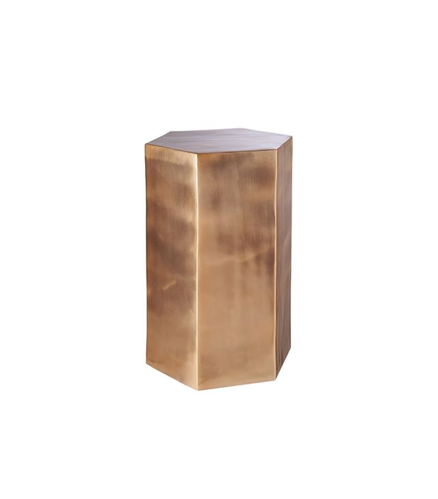 CB2 Hexagon Side Table