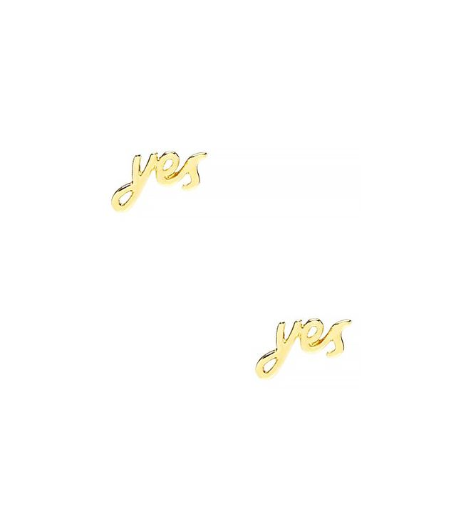 Kate Spade Say Yes Studs