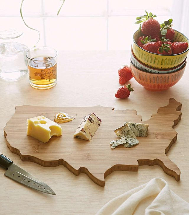 Urban Outfitters USA Bamboo Cutting Board