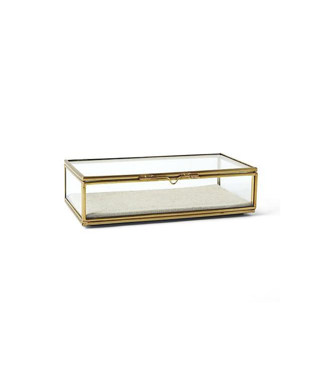 West Elm Glass Shadow Box
