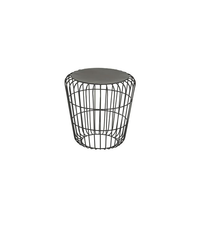 Overstock Round Wire Side Table