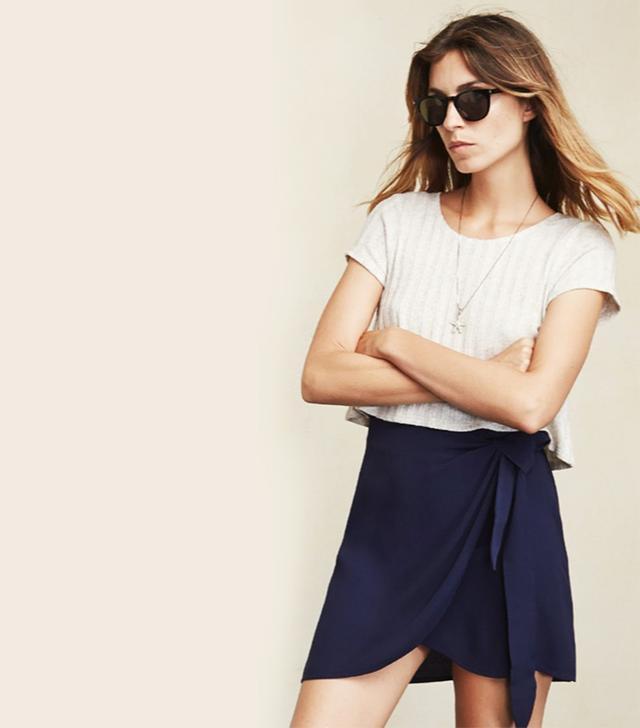 Reformation Kent Skirt