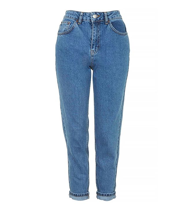 Topshop Petite Moto Vintage Mum Jeans