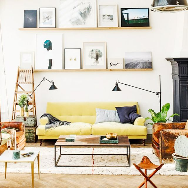 Trend Alert: Yellow Is the New Blue Sofa