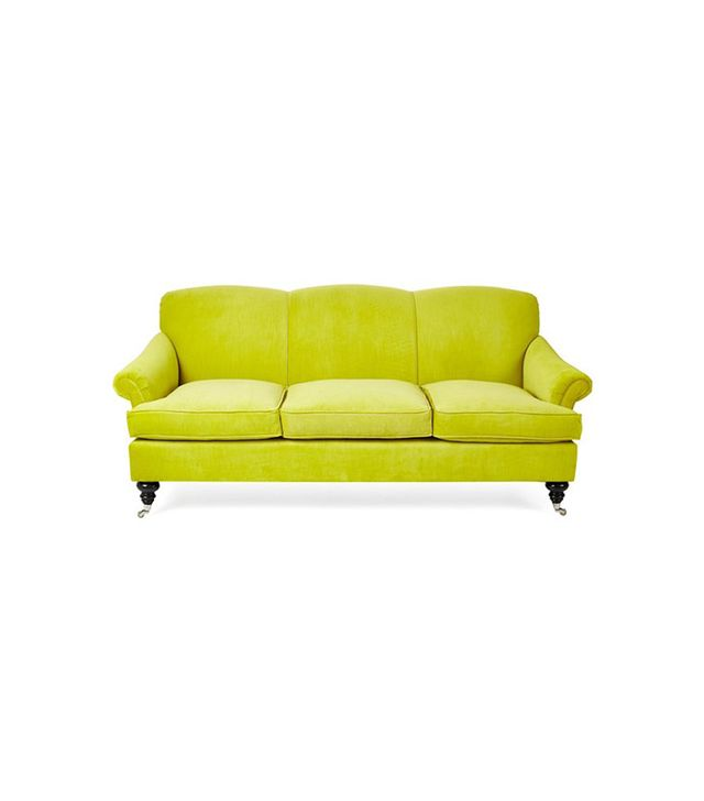 One Kings Lane Joplin Citrus Sofa