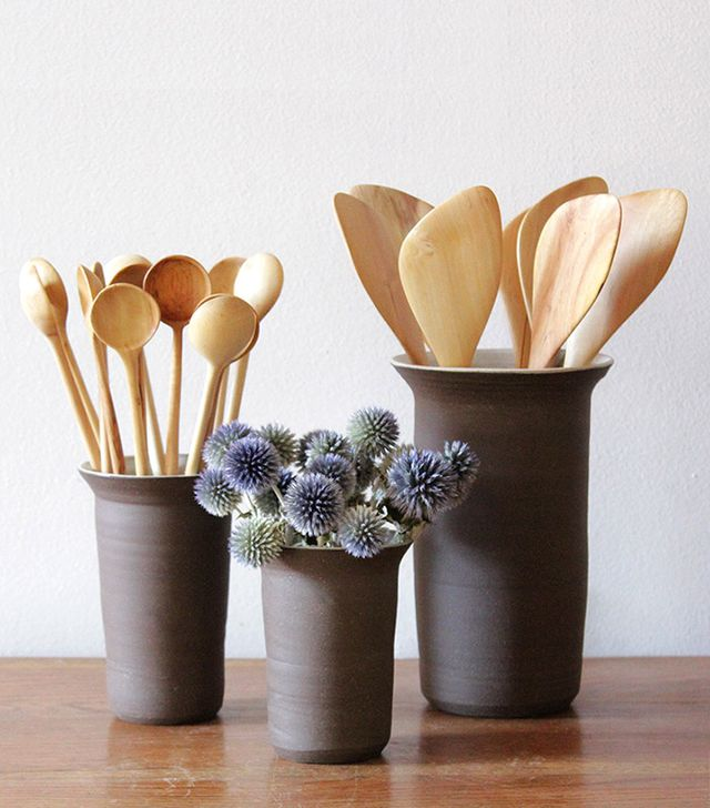 Nickey Kehoe Stoneware Utensil Holders
