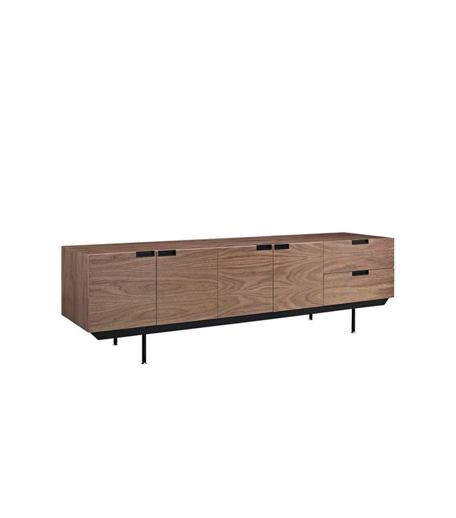 Modern Way Courier Sideboard in Dark Walnut