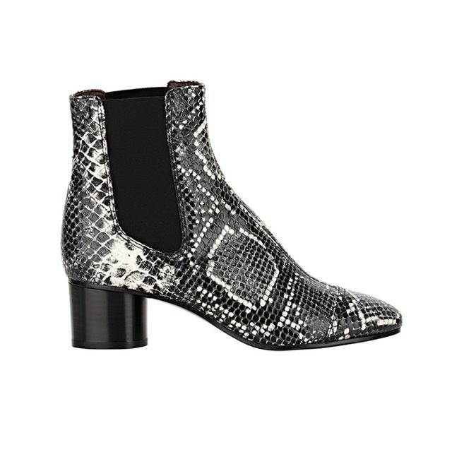 Isabel Marant Etoile Python-Stamped Danae Boots
