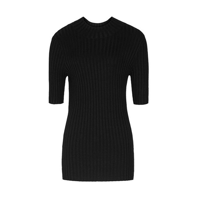 Reiss Chambers High-Neck Ribbed Jumper