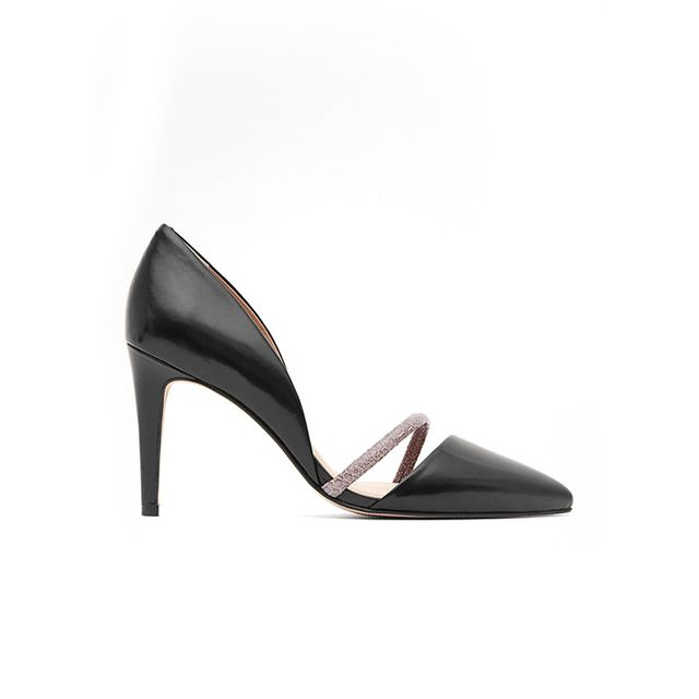 Reiss Amika Point-Toe Shoes
