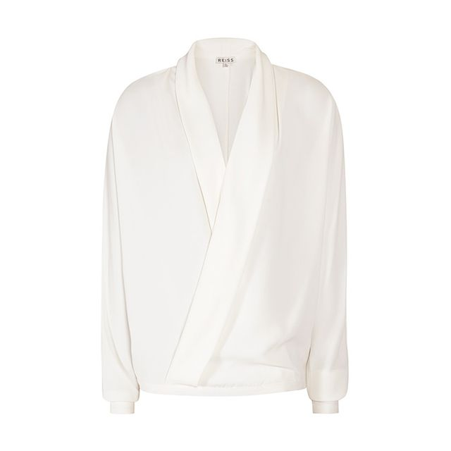 Reiss Ivy Wrap-Front Top