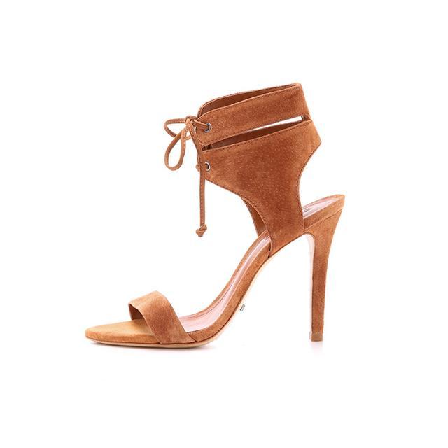 Schutz Kora Suede Sandals
