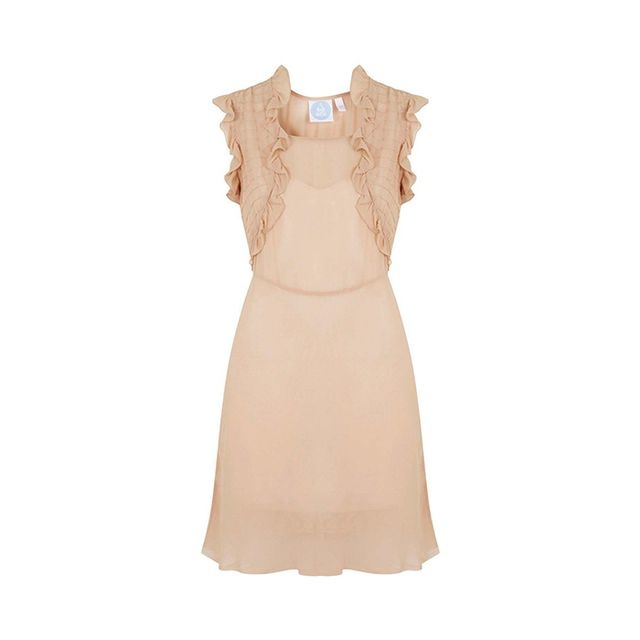 Topshop Courtney Sheer Dress