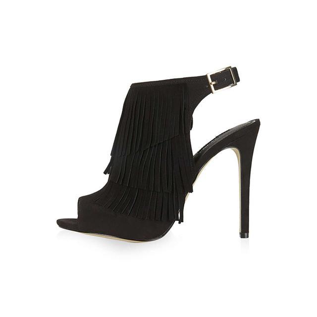 Topshop Rhonda Fringe Sandals