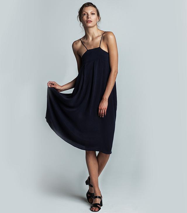 Trois Laetitia Mid-Length Dress