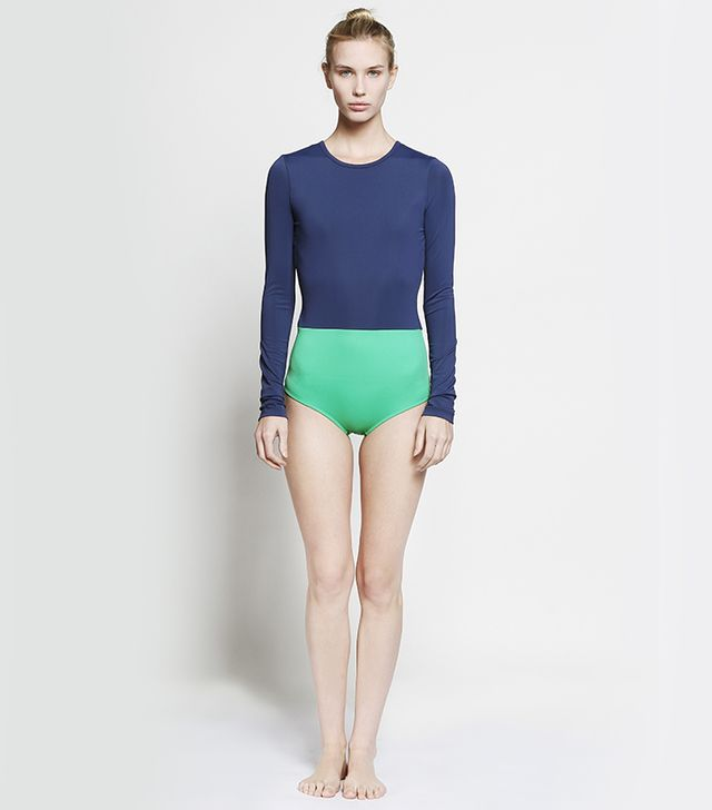 Cover Colour Blocked Swimsuit