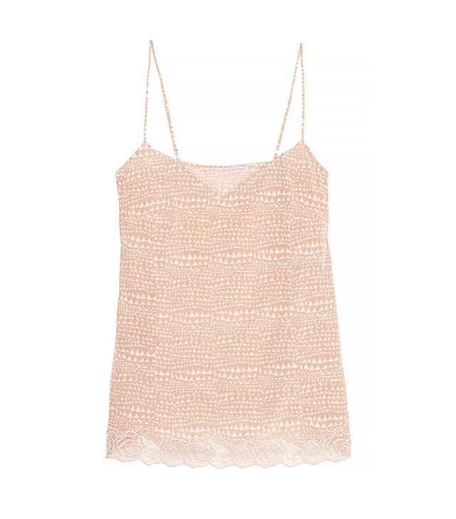 Stella McCartney Ellie Leaping Printed Silk Camisole
