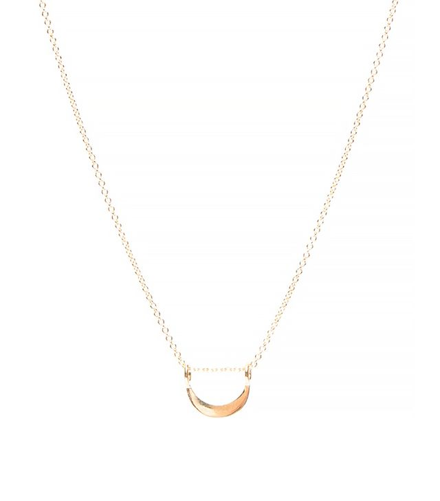 J. Hannah Stevie Necklace, Yellow Gold